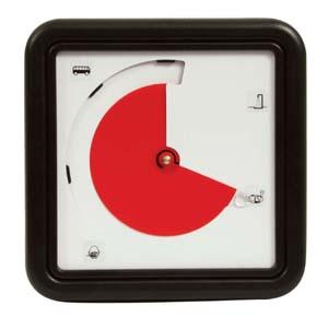 Time Timer met blanco kaart